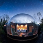 The Bubble Domes of Finn Lough, Northern Ireland