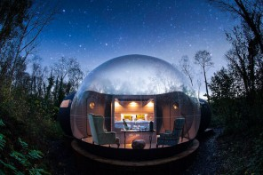 Bubble Dome Finn Lough Northern Ireland